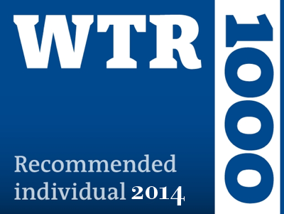 WTR 2104 Recommended Individual 2014